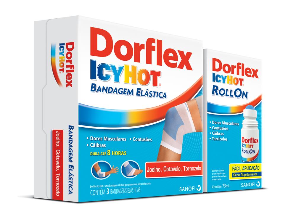 Dorflex Icyhot Bandagem Elástica