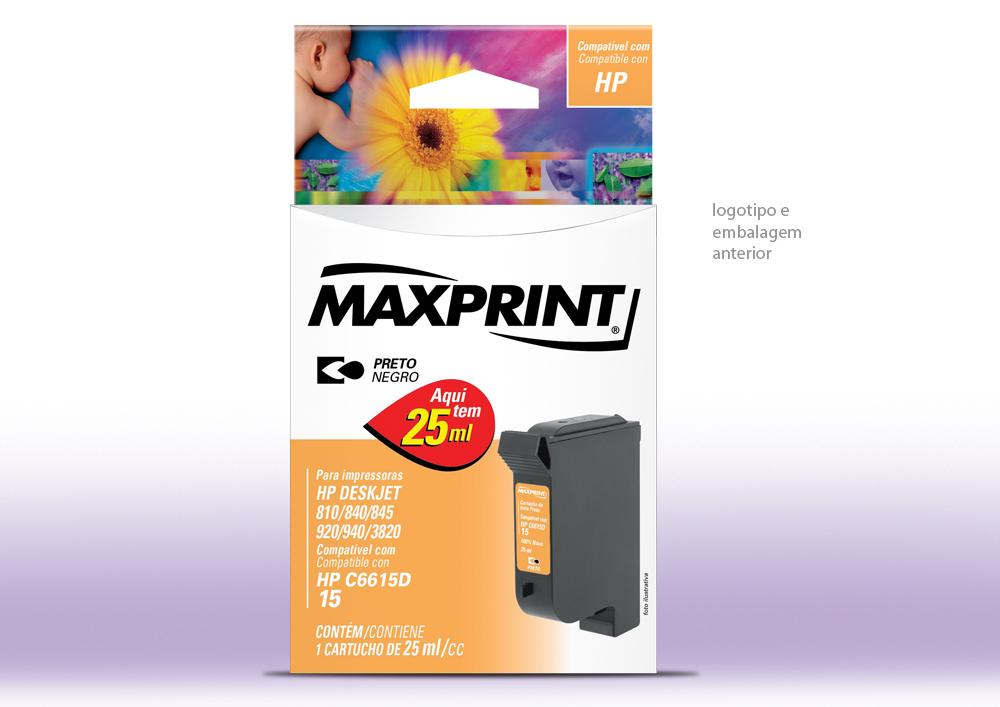 Maxprint Cartucho HP Atual Post